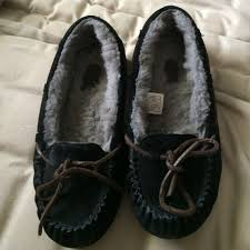 ugg s dakota moccasins sale 70 ugg shoes ugg dakota black moccasins from alana s closet