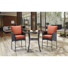 Patio High Table by Patio High Top Bistro Sets Lovely Strathmere Allure 3 Piece High