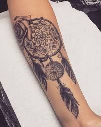 45 dreamcatcher tattoos for men and women 2018 page 4 of 5
