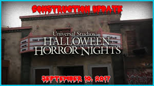halloween horror nights tickets halloween horror nights 2017 final construction update youtube