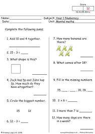 primaryleap co uk mental maths 4 worksheet