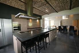 cuisine moderne americaine cuisine américaine ouverte sur la salle à manger greenwich