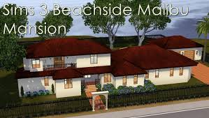 the sims 3 house floor plans sims 3 beachside malibu mansion youtube