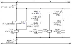 star delta motor control circuit motor controling pinterest