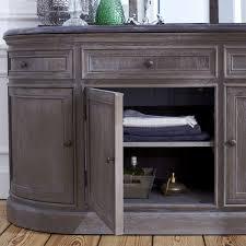 meuble sous vasque sur mesure indogate com salle de bain bois et pierre