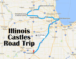 Southern Illinois Map by A Road Trip To 6 Of The Most Majestic Castles In Illinois