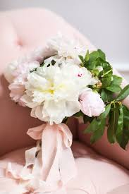 Peonies Bouquet Diy Peony Wedding Bouquet Tutorial Whitney Blake