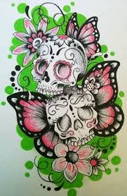 girly sugar skull designs tattooic