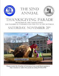 thanksgiving day parade new rochelle chamber of commerce