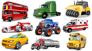 bigfoot presents meteor and the mighty monster trucks learning street vehicles names and sounds for kids with surprise