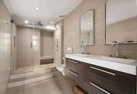 idea bathroom bathroom ideas contemporary backsplash cabinet half wallpaper