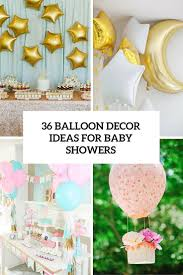 Centerpieces For Baby Shower by 107 Best Baby Shower Balloon Decor Images On Pinterest Baby
