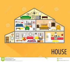 Livingroom Cartoon Cartoon House Inside Living Room Carameloffers