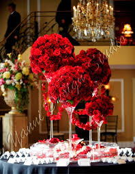 Red Roses Centerpieces Best 25 Red Wedding Flower Arrangements Ideas On Pinterest Red