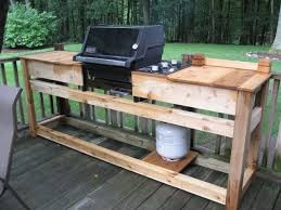 diy grill table plans pallet grill busca dores