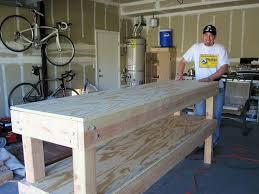 Garage Workbench Designs 100 Garage Bench Designs Best 25 Garage Workbench Ideas On