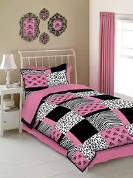 Zebra Print Single Duvet Set Amazon Com Veratex Pink Skulls Twin Size 3 Piece Comforter Set