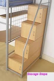 Hyder Bunk Beds Hyder Storage Loft Bunk Bed With Desk Storage Steps Futon