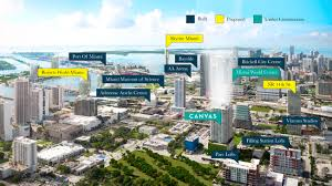 Home Design Center Miami by Canvas Condos Miami Luxury Real Estate