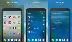 most recent android update microsoft arrow launcher updated with instant messenger support on