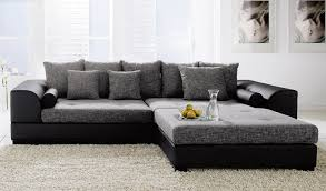 Modern Leather Chair Viewing Gallery Meridian Furniture Ferrara 3pc Modern Grey Velvet Sectional Sofa
