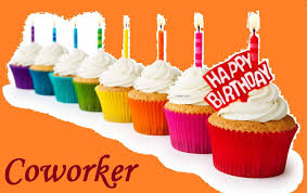 happy birthday quote coworker yummy cupcakes happy birthday wish to coworker golfian com