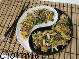 cuisiner le hareng salade de hareng et pomme de terre à la mode asiatique la cuisine