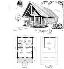 cabin home plans and designs floor small floorplan log with loft