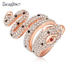 aliexpress buy beagloer new arrival ring gold beagloer superdeals ring gold color and pave austrian