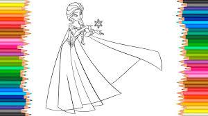 princess elsa coloring pages disney frozen coloring book for