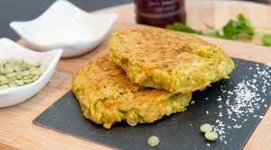 cuisiner des pois cass galette vegan pois cassés curry coco recette legumineuse