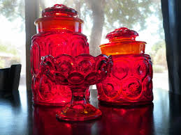 Pink Kitchen Canister Set 100 Glass Kitchen Canister Sets Kitchen Canisters Red Glass