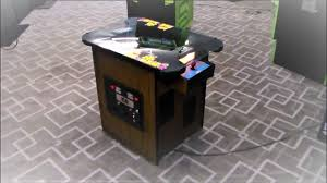 Pacman Game Table by Classic 1981 Ms Pac Man Cocktail Table Arcade Game Youtube
