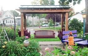 Pergola With Swing by Swings Perfect Arbors