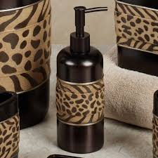 bathroom shower cheetah bathroom set curtains and rugs