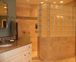 shower home design amazing half wall shower glass best home