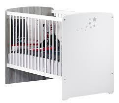 chambre bébé sauthon lit bébé 120x60 étoiles grises nao meuble sauthon