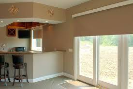 Big Sliding Windows Decorating Decoration Window Treatments For Large Sliding Glass Doors Image