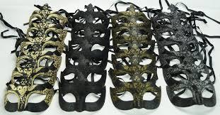 bulk masquerade masks black masquerade eye mask party pack mgideas mask