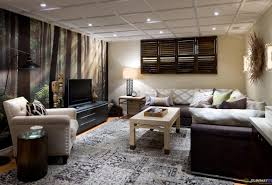 Hgtv Living Rooms Ideas by Living Room Rustic Basement Amazing Basement To Living Room