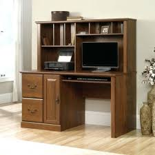 Sauder White Desk With Hutch Desk Sauder Harbor View Computer With Hutch Antiqued Paint For