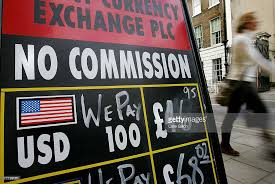 bureau de change 8 pound and pushed even higher against the dollar photos and
