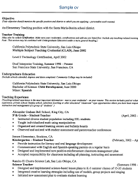 curriculum vitae for students template observation curriculum vitae science teacher teaching cv template job
