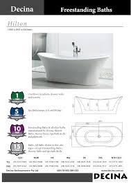 decina u2013 hilton freestanding bath bathrooms are us brisbane