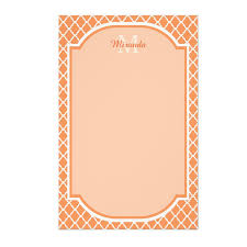 girly personalized letter writing stationery for her oh so girly