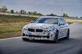 prototype drive 2018 bmw m5 automobile magazine