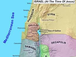 Map Of Israel In Jesus Time Map Creator
