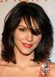 min hairstyles for medium length hairstyles with side bangs best