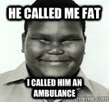 Fat Black Kid Meme - retaliating black kid memes quickmeme