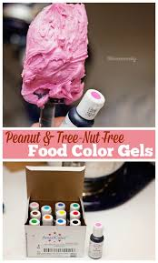 coloring icing gels peanut safe alternative to wilton